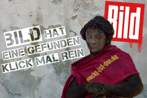 Bild Statuen Collage